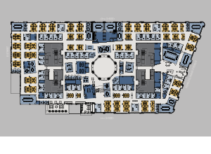 1001 Pennsylvania Avenue floor plan